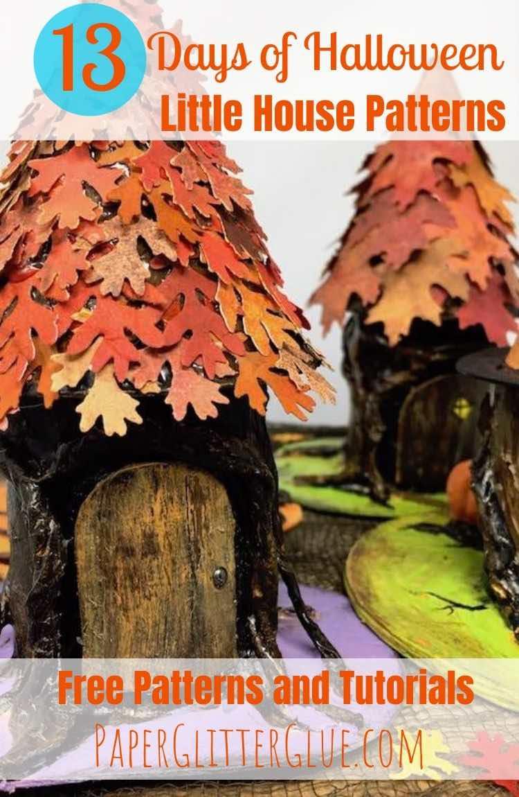 Halloween Tree Stump house to make