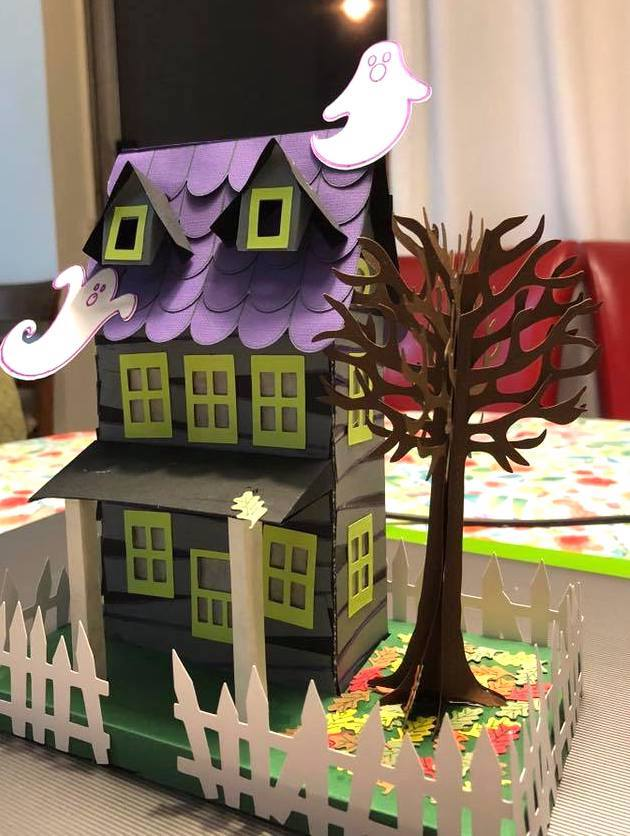Halloween's Paper House by Vicki