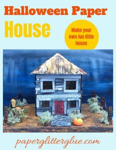 Hip Roof Farmhouse Paper House