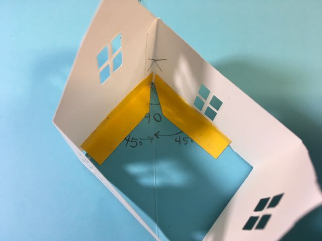How to locate the glue tabs for your pop-up house #popup #popuphouse #popupcard