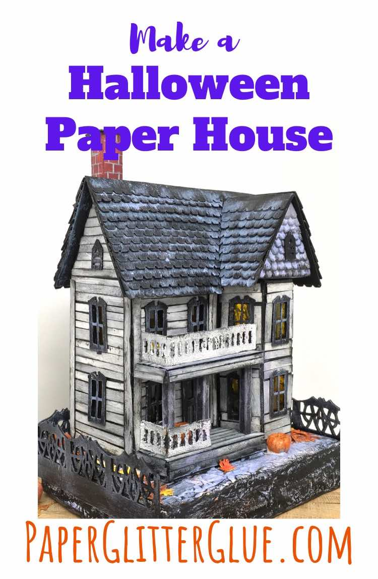 How to make a MIniature Halloween House