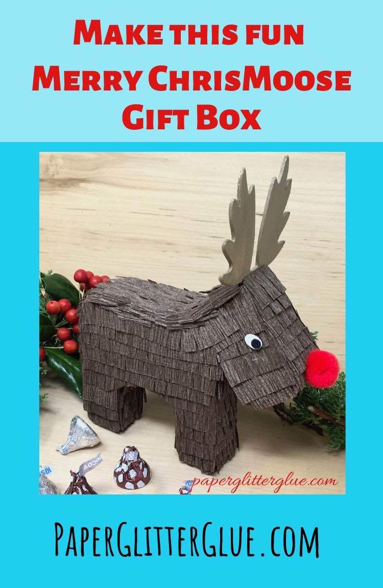 How to make a Merry ChrisMoose gift box