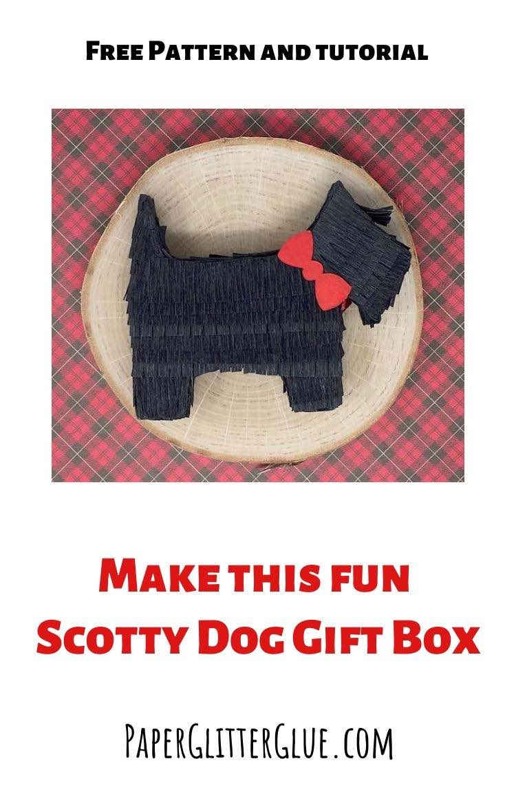How to make a Scotty Dog Gift Box