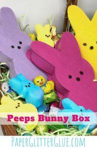 How to make an Easy Peeps Bunny Box