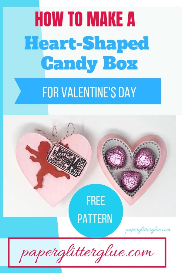 How to make this easy candy box DIY free printable