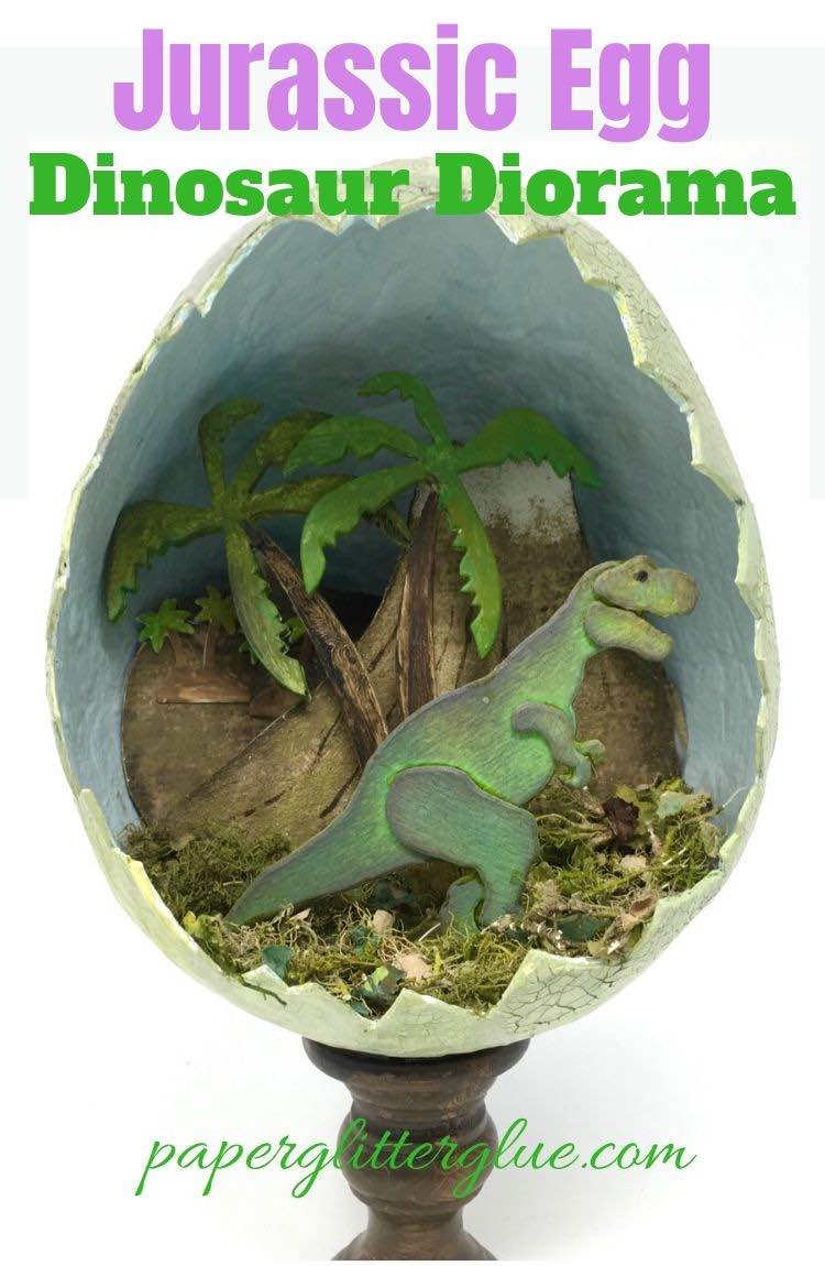 How to make the Jurassic Egg
