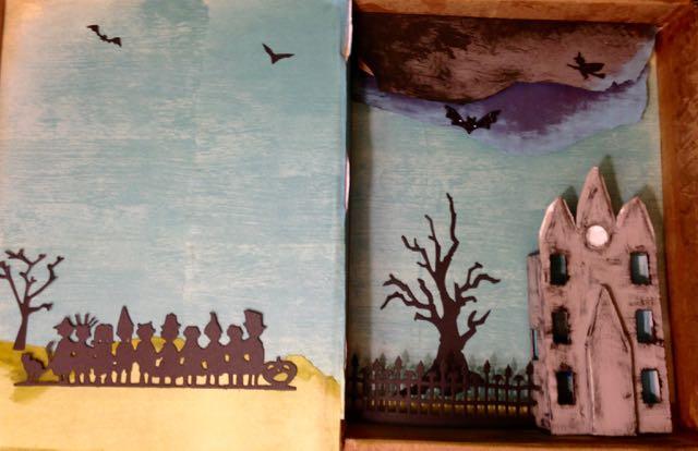 Halloween Book Decorative Elements