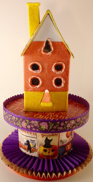 Candy Corn House one