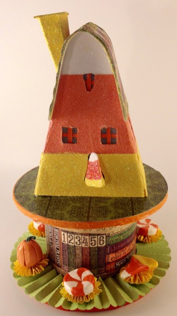 Candy Corn house two