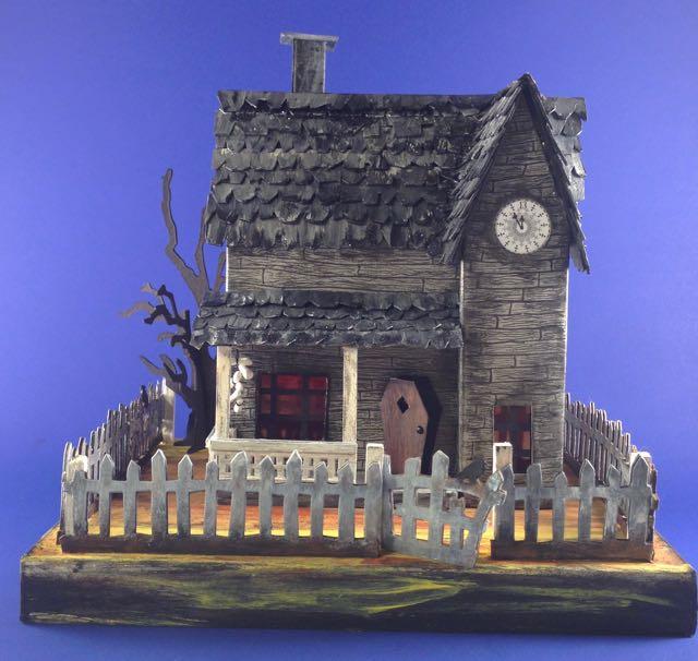 Jack's house Handmade Halloween house