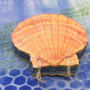 Seashell Book painted cover