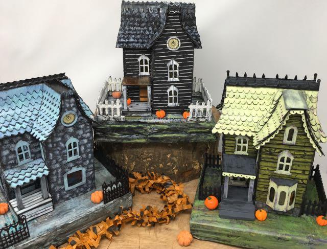 Davenport Series of Halloween Paper Houses