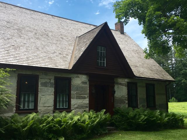 Robert Frost Stone House museum front view