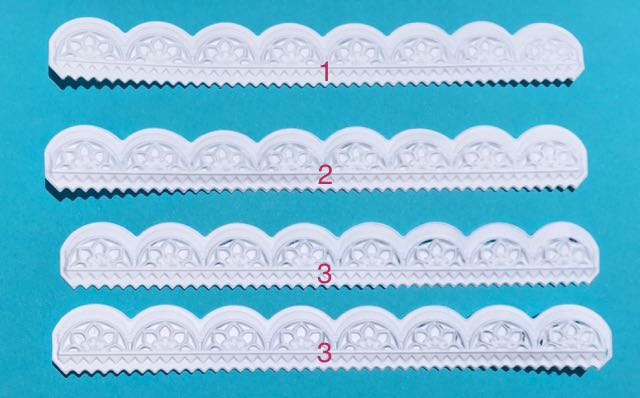Sizzix Mini Scallop 3-D Impresslit Embossing Folder Tutorial | Tim Holtz dies | paper crafts