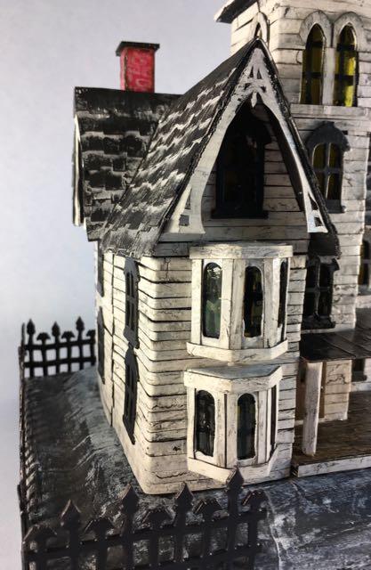 Rooftop of the Halloween house mansion #halloweenhouse #halloween