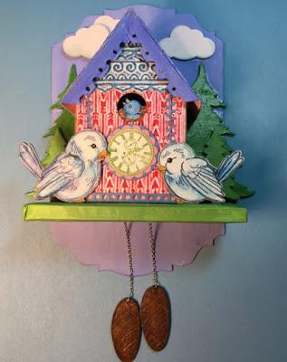 Birdhouse Cuckoo Clock front view