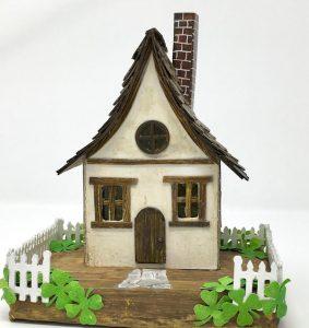 Make an Irish Cottage for St. Patricks Day