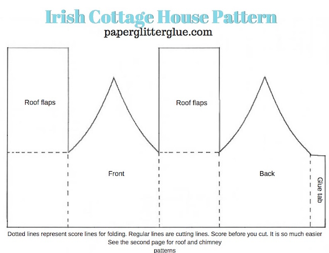 Irish-Cottage-pattern-paperglitterglue