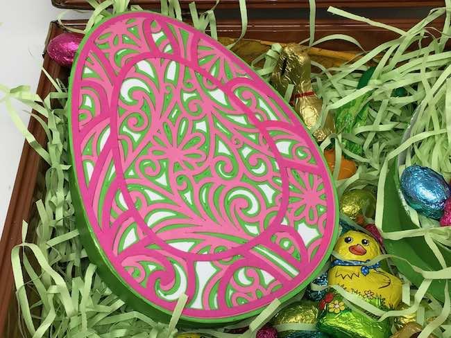 Jennifer Maker Filigree Easter Egg design