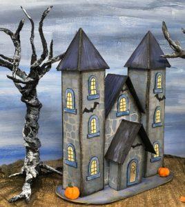 Halloween Paper House No. 13 -Vlad's Castle