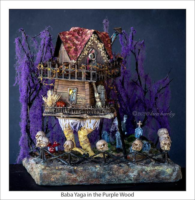 Lara Baba Yaga in the Purple wood