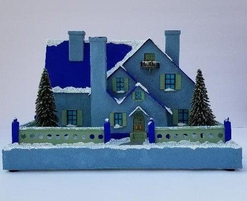 Lee Higginbotham blue house