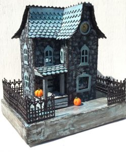 Another 3D Paper House in the Davenport House Series