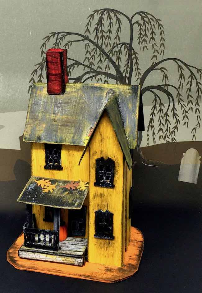 13 Handcrafted Halloween Houses Lenore's Haunted Boarding House