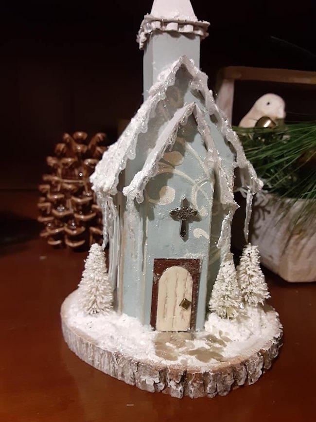 Linda Detwiler Tressler front icicle church
