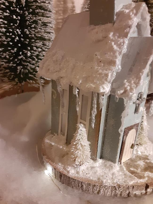 Linda Detwiler Tressler icicle church
