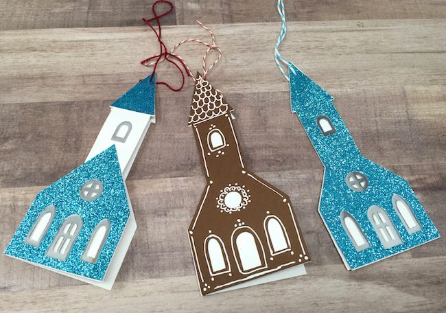 Little church gift tags options