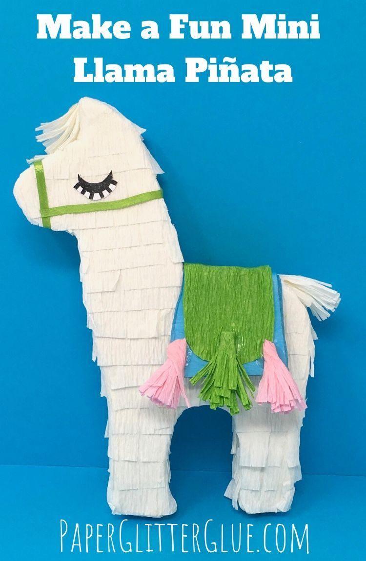 Make mini Llama pinata