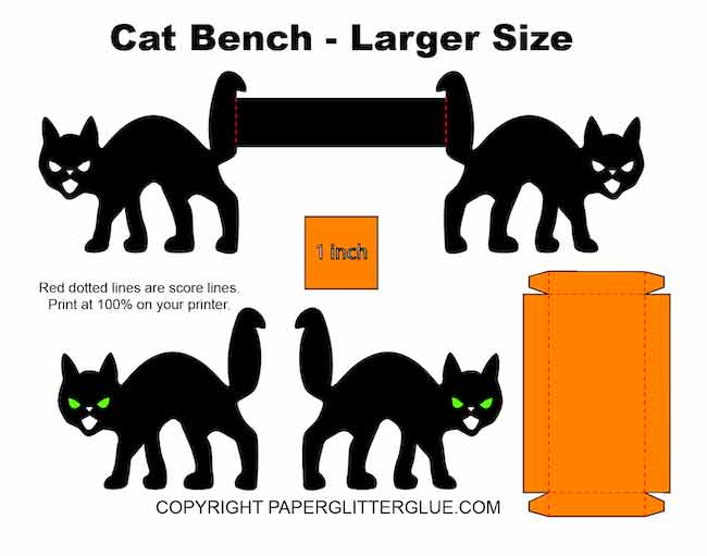 Make a Miniature Cat Bench - larger size