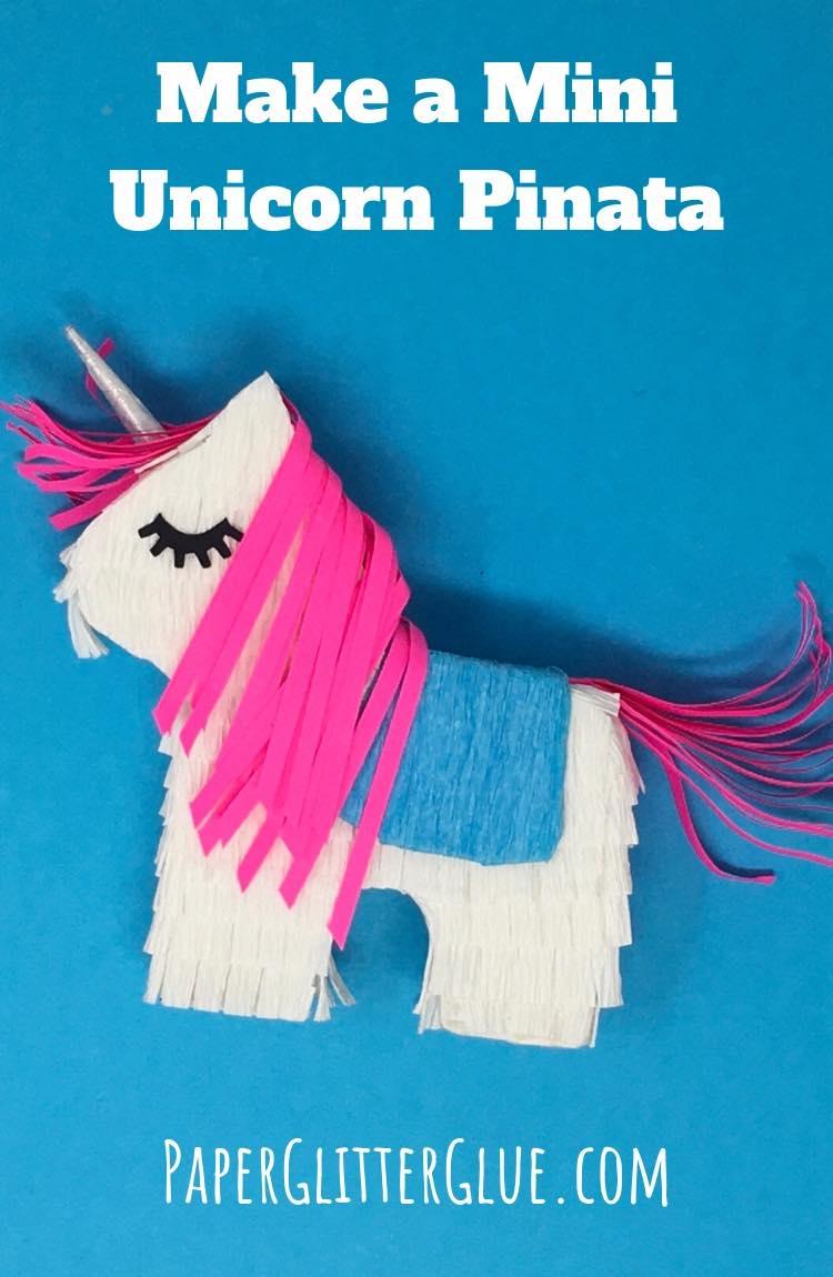 Make a Mini Unicorn Pinata
