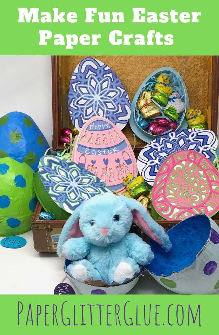 Make fun Easter Paper Crafts