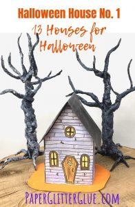 Make mini Halloween House no 1
