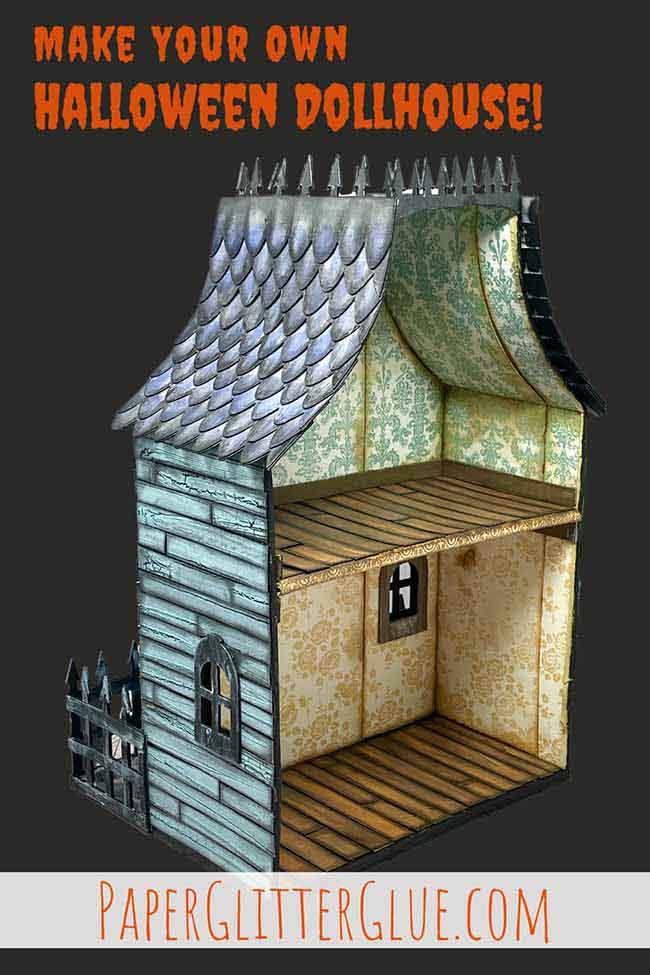 Make your own Halloween Dollhouse
