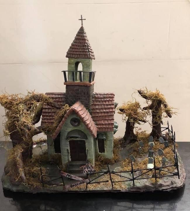 Maria's pet cemetery