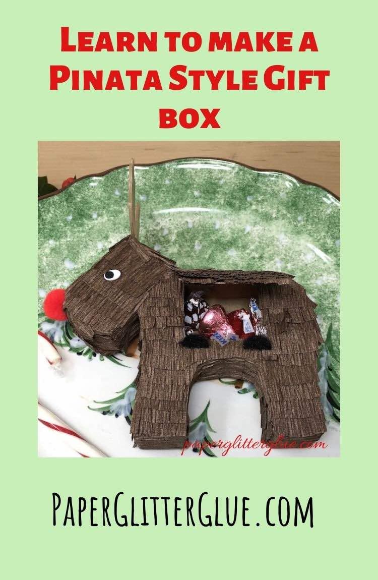 Merry ChrisMoose gift box to make