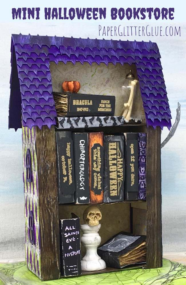 Mini Halloween Bookstore