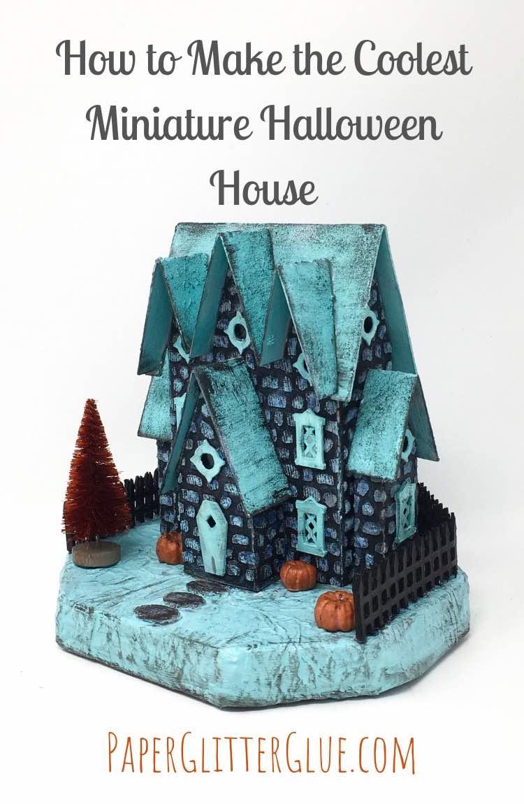 Miniature Halloween House