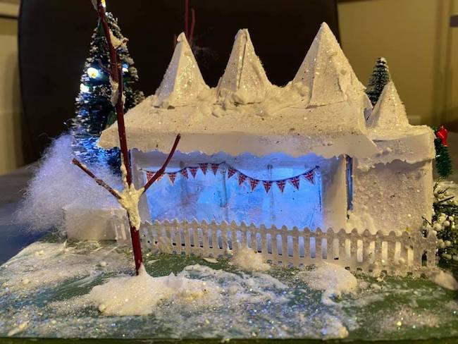 Nancy Cadjan Holiday tent