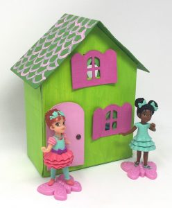 Pasta box dollhouse front