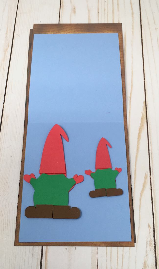 Pieces for the gnome card