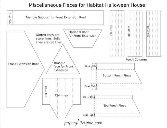 Porch pieces for the Habitat house