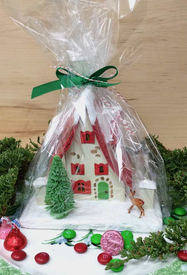 Red Roof Holiday Cottage Hostess Gift