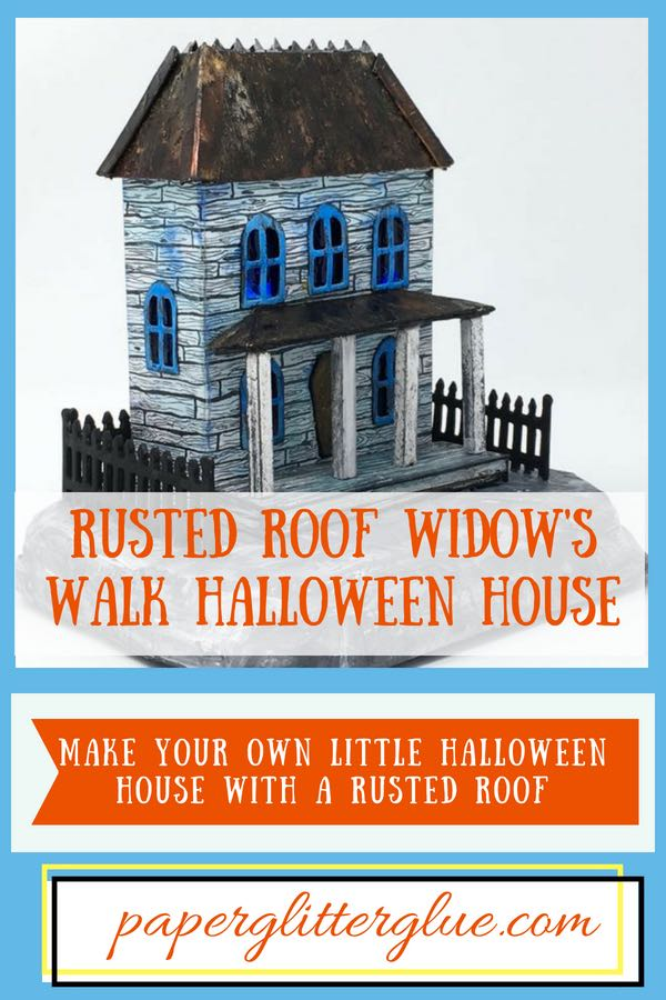 Rusted Roof Widow's Walk DIY instructions