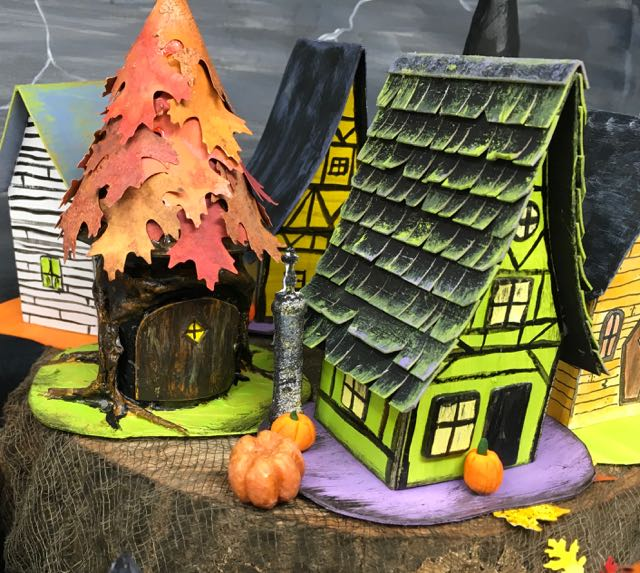 Shingles Medieval Haunted Paper House