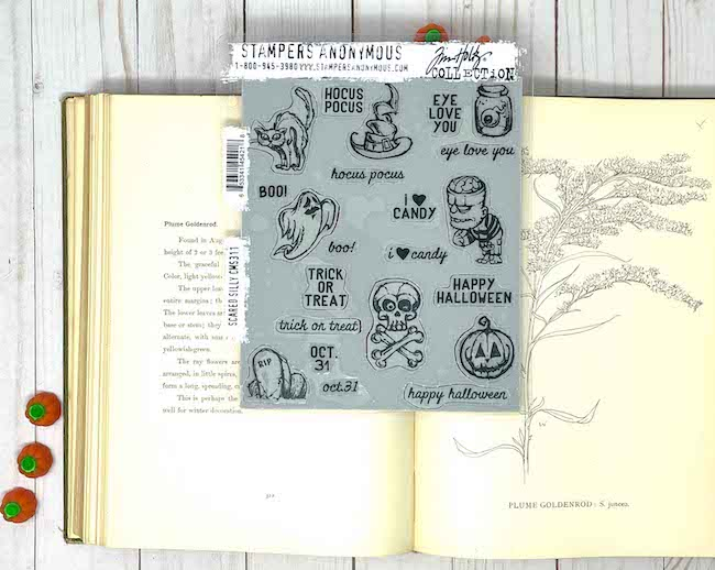 Stampers Anonymous Halloween Stamps smaller stamps