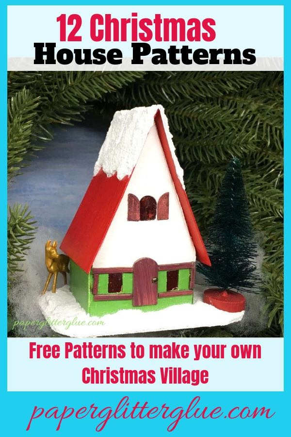 Swiss Chalet Miniature Christmas House 12 Houses For Christmas